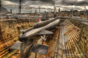 Submarine - Chatham Dockyard
