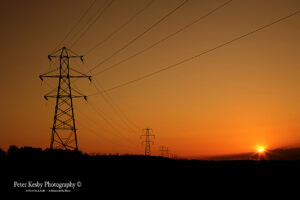 Pylons - Sunset - #3