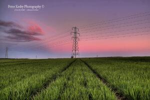 Pylons - Sunset - #4